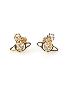 Vivienne Westwood Womens Gold Nora Earrings