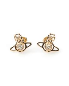 Vivienne Westwood Womens Gold Nora Earrings