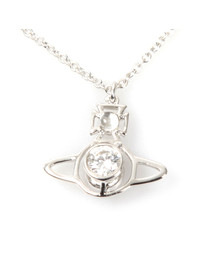 Vivienne Westwood Womens Silver Nora Pendant