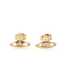 Vivienne Westwood Womens Gold Farah Earring