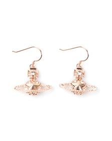 Vivienne Westwood Womens Pink Astrid Drop Earrings
