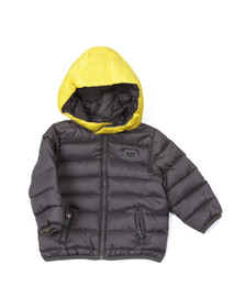 Armani Baby Boys Grey BDL03 Down Jacket