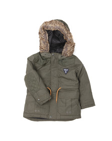 Timberland Boys Green Boys T26402 Hooded Parka
