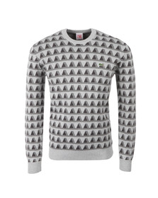 Lacoste Live Mens Grey AH1286 Knitwear