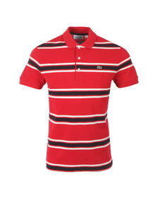 Lacoste Mens Red PH2193 Polo Shirt