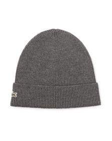 Lacoste Mens Grey RB3502 Beanie