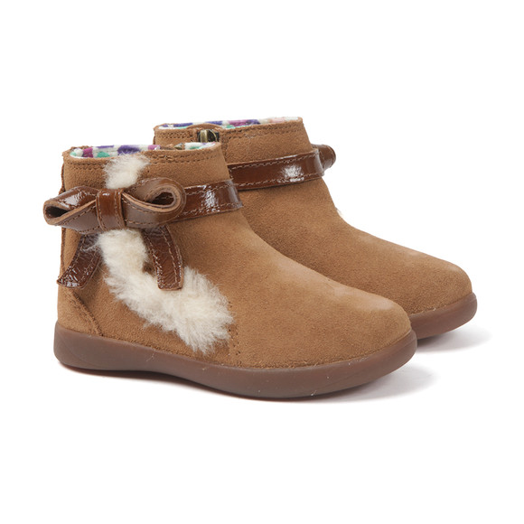 Ugg Girls Brown Libbie Boot main image