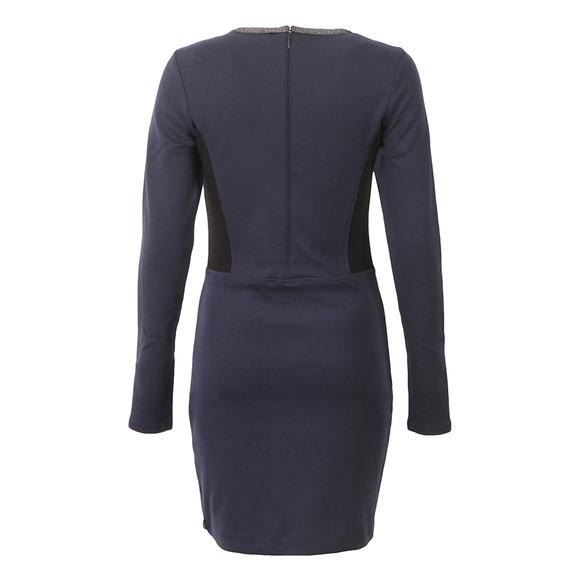 Maison Scotch Womens Blue Fitted Stretch Dress main image