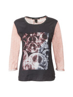 Photoprinted Burnout Top