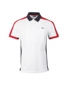 Lacoste Sport Mens White YH1321 Polo Shirt