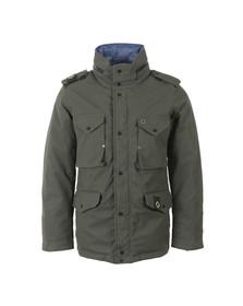 Ma.Strum Mens Green Reversible Field Jacket