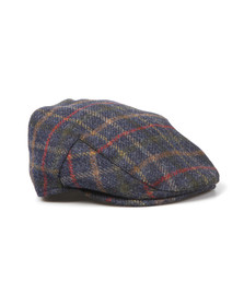 Barbour Lifestyle Mens Blue Moons Tweed Cap