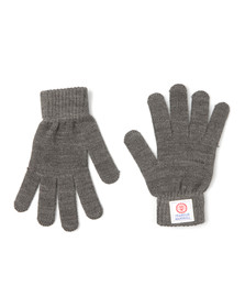 Franklin & Marshall Mens Grey Knitted Glove