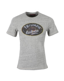 Barbour International Triumph Mens Grey InJector Single T-Shirt