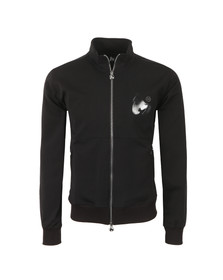 Money Mens Black Tricot Track Top