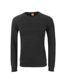 Boss Orange Mens Black Wilkens Sweatshirt