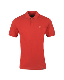 Pretty Green Northern Soul Mens Red Northampton Polo