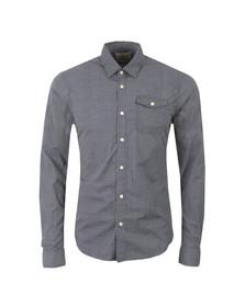 Scotch & Soda Mens Blue All Over Printed Shirt