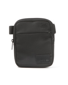 Lacoste Mens Black NH1182SC Crossover Bag