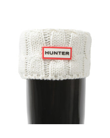 Hunter Womens Beige Original Tall 6 Stitch Cable Boot Sock
