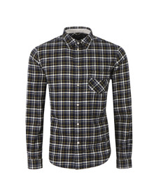 Paul Smith Jeans Mens Black Classic Fit Check Shirt