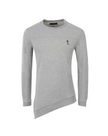 Religion Mens Grey Silent Crew Sweatshirt