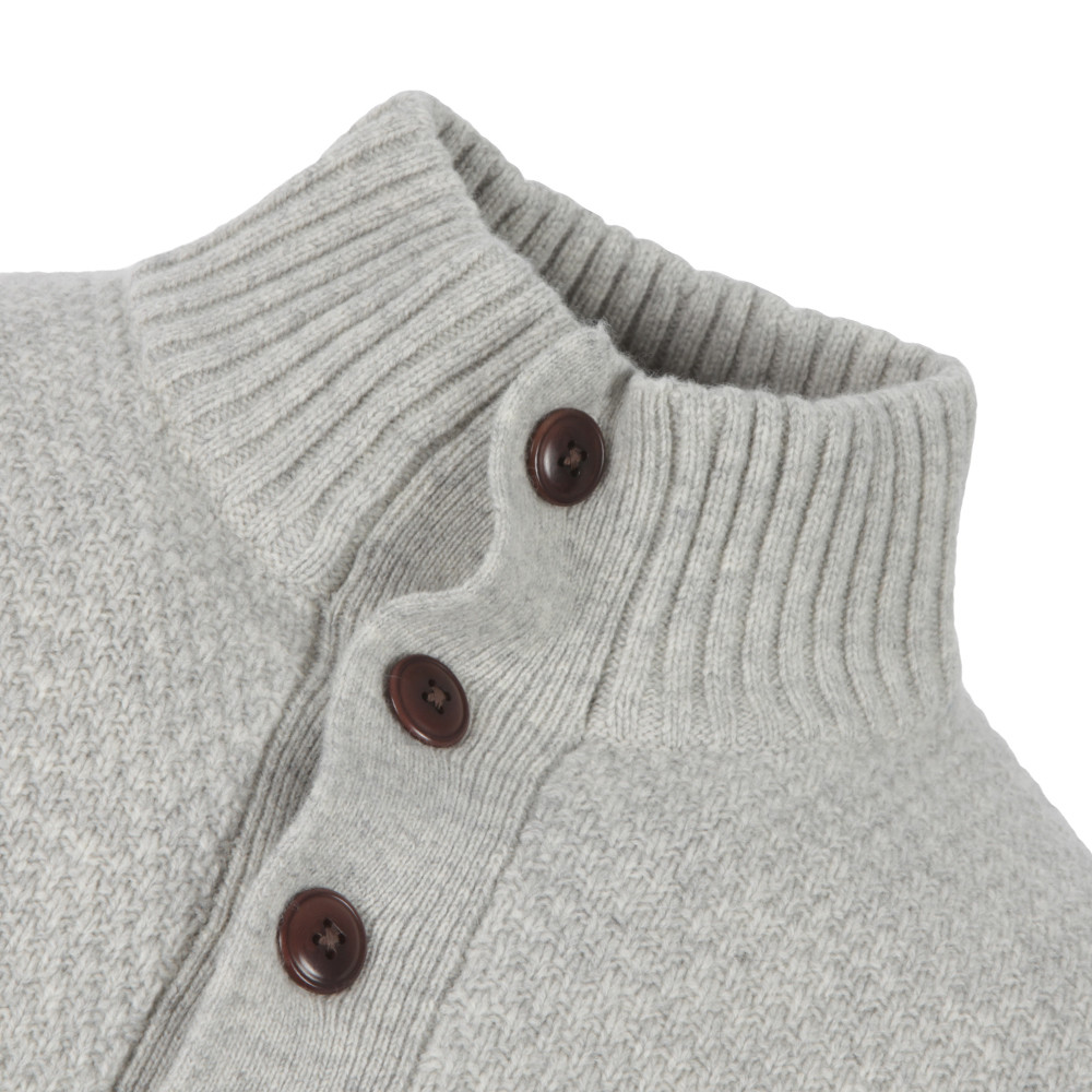 Merino Wool Mock Neck Jumper main image