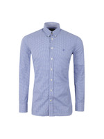 L/S Gingham Multi Trim Shirt