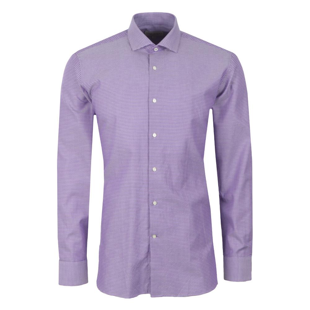 75ee5d8b9615b Ted Baker Mens Purple Rosest Endurance Slick Rick Shirt main image ...