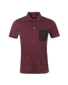 Hugo Mens Red Dyron Polo Shirt