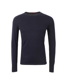 Hugo Mens Blue Sabinus Crew Neck Jumper