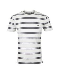 Lacoste Mens White TH2708 T-Shirt