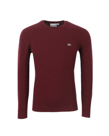 Lacoste Mens Red AH1857 Jumper