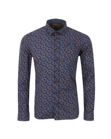 Pearly King Mens Blue Commotion Shirt