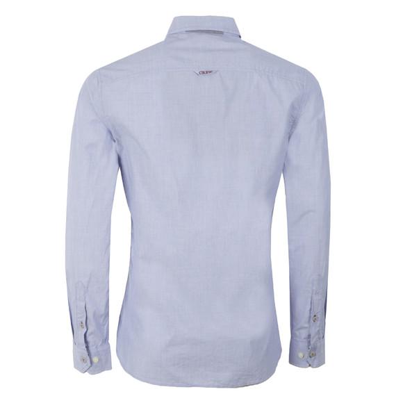 Crew Mens Blue L/S Wittering Shirt main image