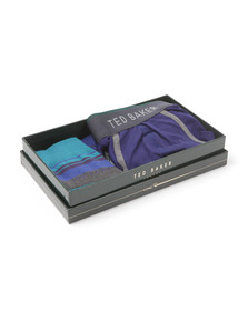 Ted Baker Mens Blue Sock And Pant Set