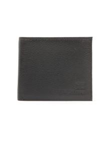 Ben Sherman Mens Black Digital Print Wallet