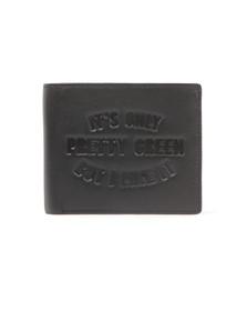 Pretty Green Mens Black Card Holder Bi Fold Wallet