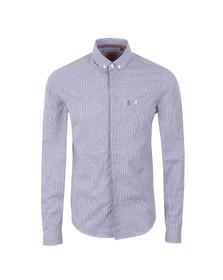 Luke Mens White Bailey Button Down LS Shirt