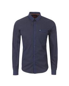 Luke Mens Blue L/S Jan The Man Shirt