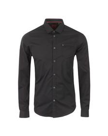Luke Mens Black L/S 2 Eye Shirt