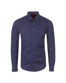 Luke Mens Blue L/S 2 Eye Shirt