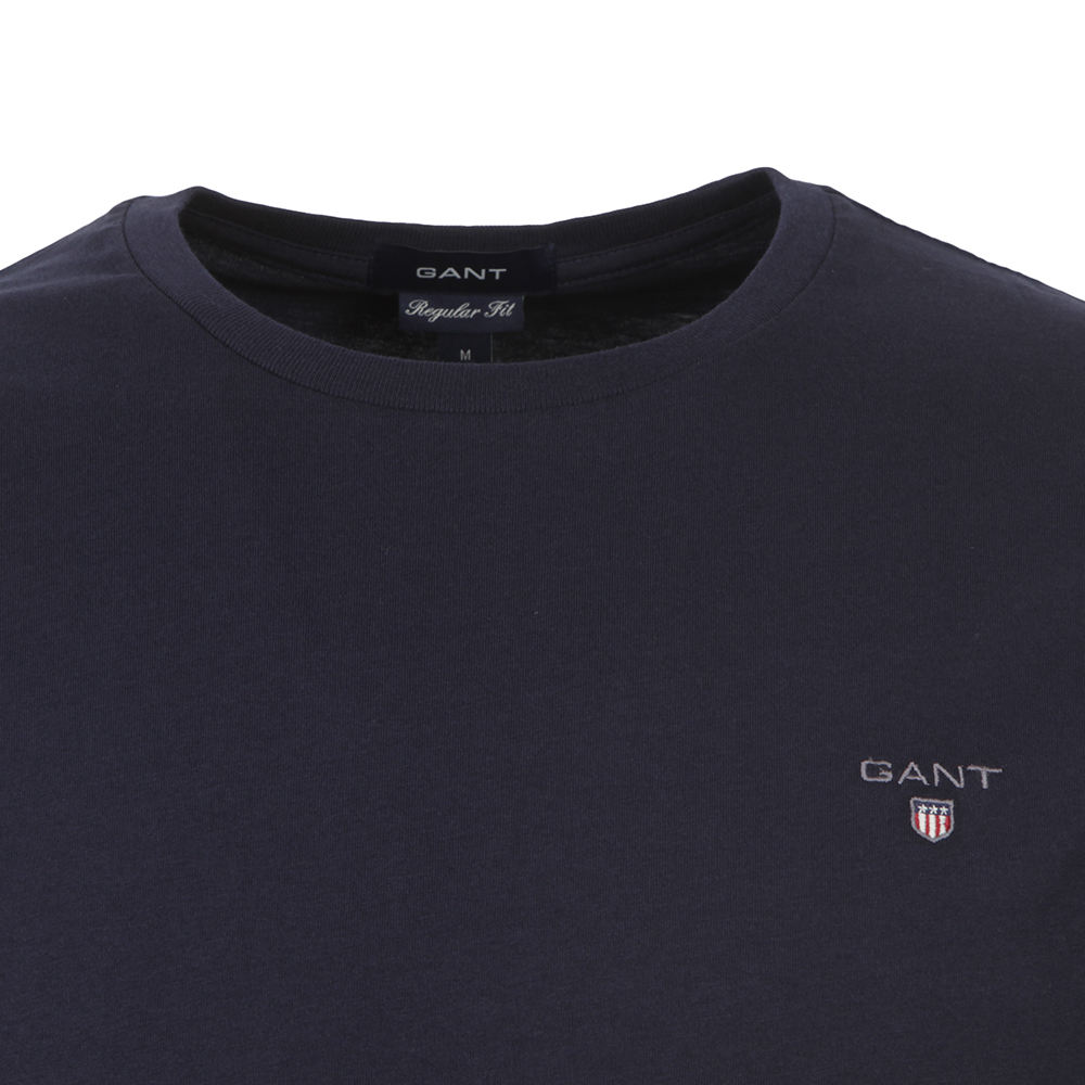 Solid Crew Neck T-Shirt main image