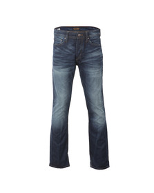 Jack & Jones Mens Blue Mike Comfort Fit Jean