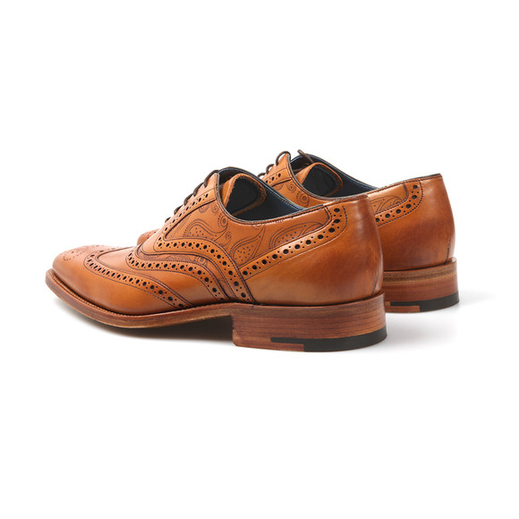 Barker Mens Brown McClean Shoe main image