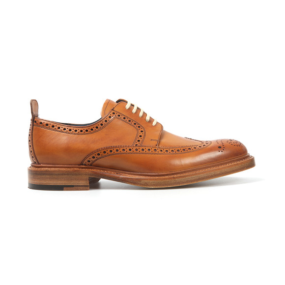 Barker Mens Brown Bailey Shoe