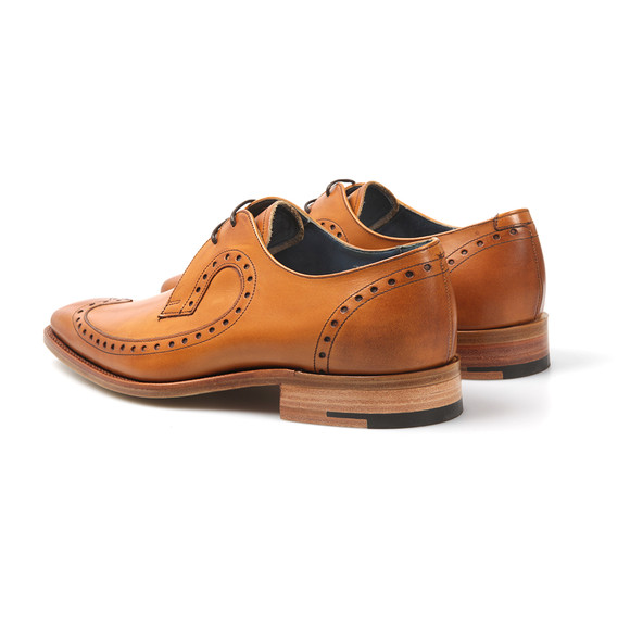 Barker Mens Brown Woody Shoe main image