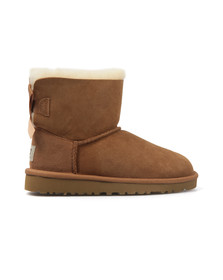 Ugg Girls Brown Kids Mini Bailey Bow