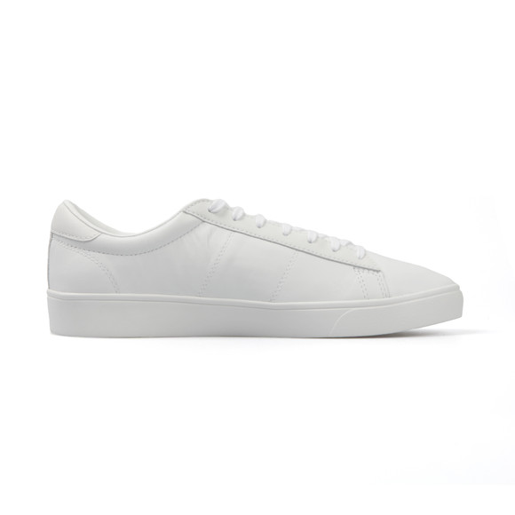 Fred Perry Sportswear Mens White Spencer Leather Trainers main image