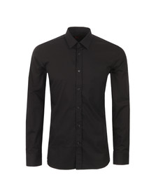 Hugo Mens Black Elisha 01 Slim Shirt